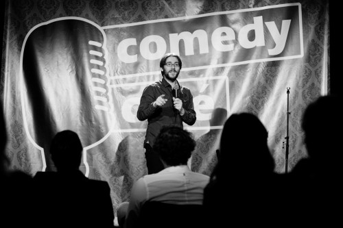 Jan-Bart De Muelenaere Comedy Café - copyright CC De Herbakker