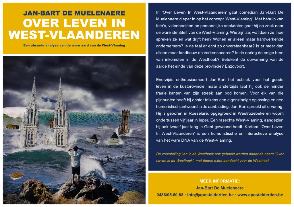 Promofolder Over Leven in West-Vlaanderen